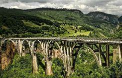 Bridge on Djurdjevica Tara
